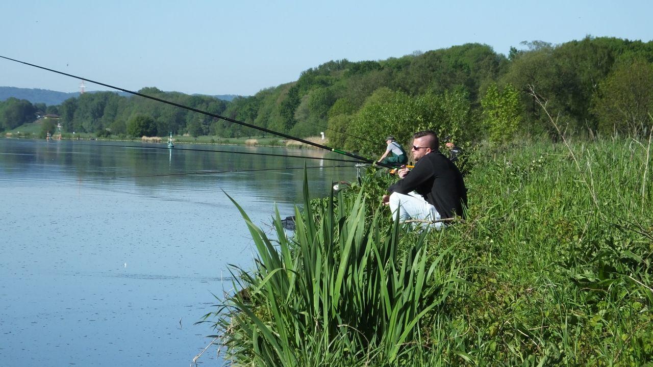 Hier an der Weser